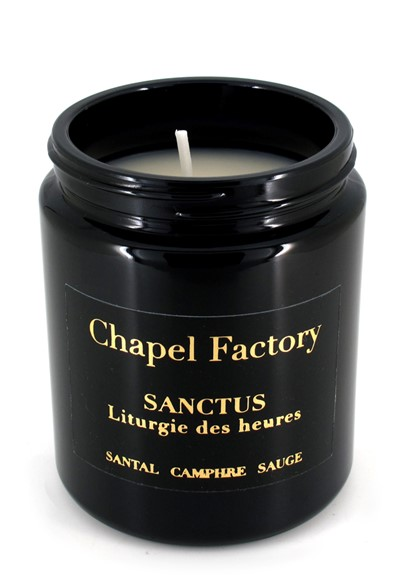 Sanctus  Scented Candle  by Chapel Factory