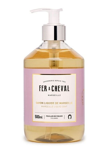 Liquid Soap - Fig Leaves Liquid Hand Soap  by Fer a Cheval