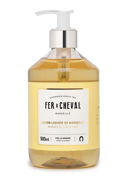 Liquid Soap - Honey Almond Liquid Hand Soap  by Fer a Cheval