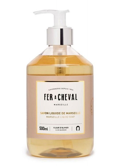 Liquid Soap - Olive Blossom Liquid Hand Soap  by Fer a Cheval