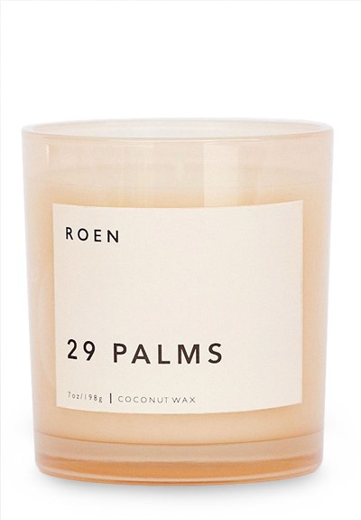 29 Palms Scented Candle  by Roen Candles