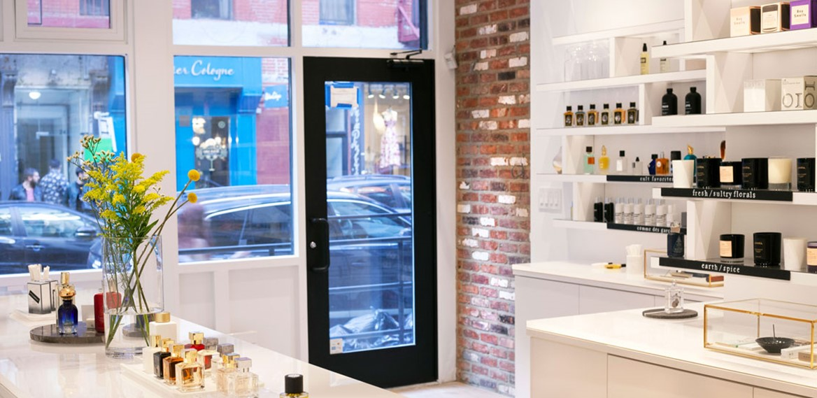 Scent Bar NYC Inside