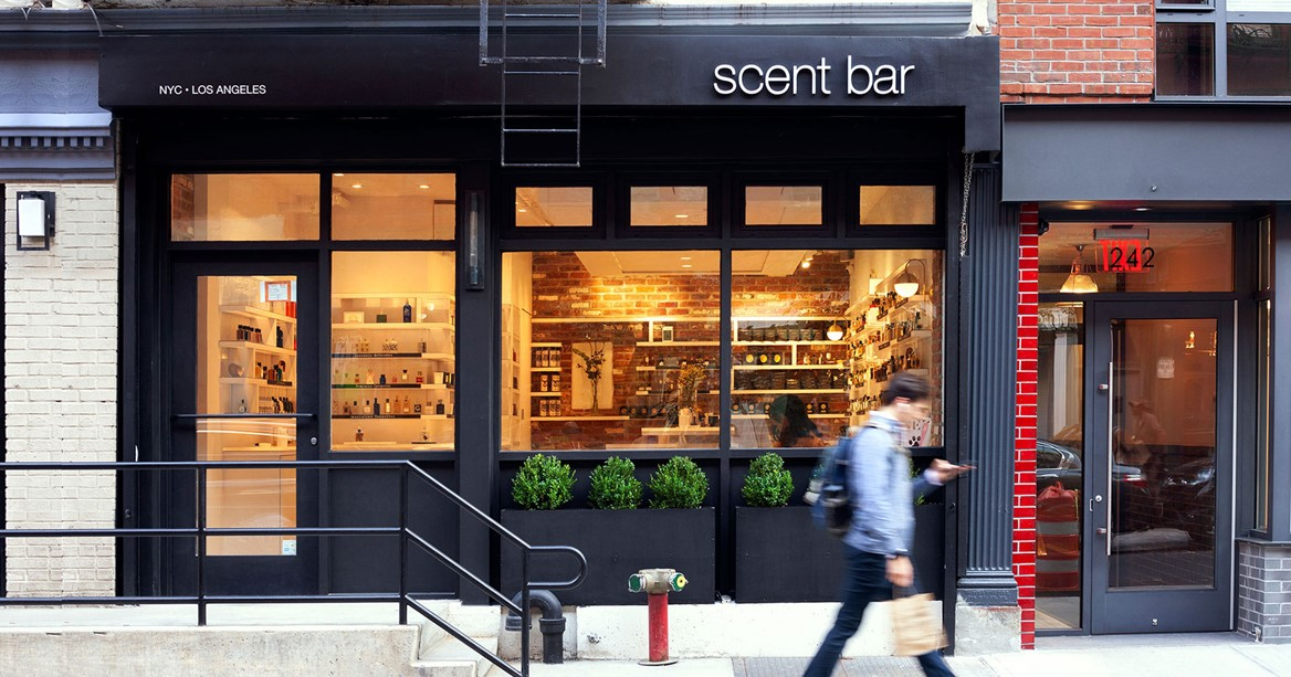 Scent Bar NYC Outside Front